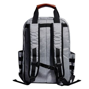 "2016 Hot Sell KALIDI Waterproof Knapsack Men's School Travel Backpack Bag 15"" Laptop Business Daypacks Women for Macbook Air Pro"