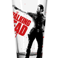 Walking Dead Rick Pint Glass