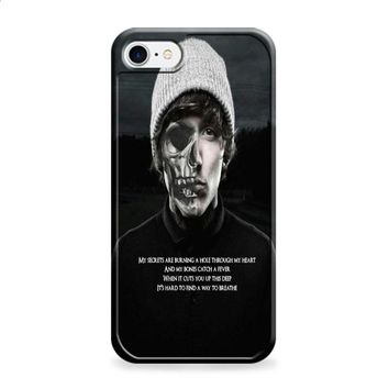 oliver sykes bring me the horizon skull iPhone 6 | iPhone 6S case