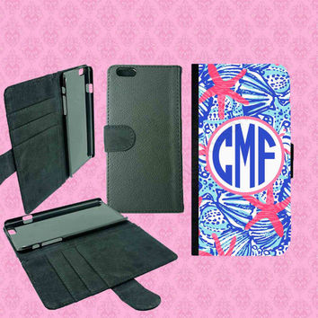 iPhone 6 Plus Wallet Case , iPhone 6 Wallet Case,Samsung Galaxy S5 Wallet Case,Galaxy Note 3 Wallet Case,Lilly Pulitzer Inspired iPhone Case