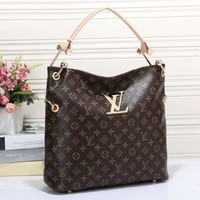 Louis Vuitton LV NEONOE Women Fashion Leather Tote Handbag Satchel Shoulder Bag