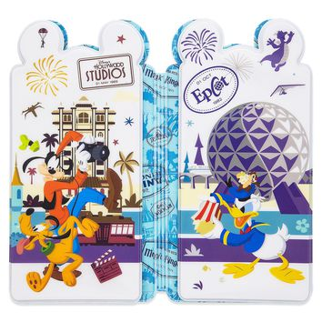 Disney Mickey & Friends Pressed Coin Collection Holder Walt Disney World New