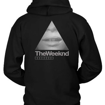 The Weeknd Girl Triangle Hoodie Two Sided