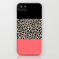 Leopard National Flag XV iPhone & iPod Case by M Studio