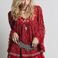Nomad Child Dress in Cherry Combo: Buy Free People at CoutureCandy.com
