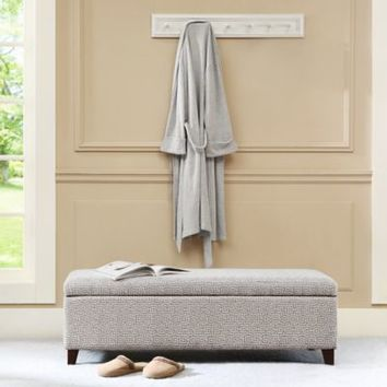 Madison Park Bench Storage Ottoman