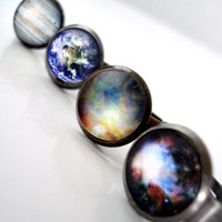 Simple Adjustable Galaxy Space Ring