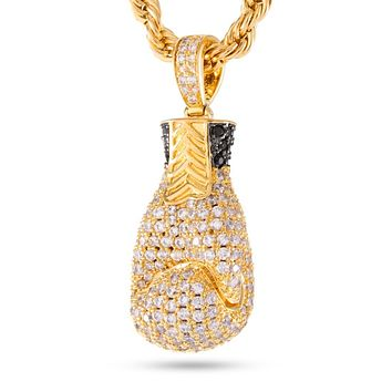 The 14k Gold Boxing Glove Necklace