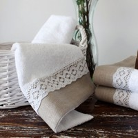 Lace Turkish Chic Towel