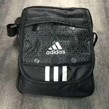 Adidas Man black Crossbody Satchel Shoulder Bag H-A-XYCL