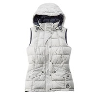 Landry Quilted Gilet in Silver by Barbour