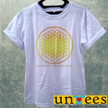 Low Price Women's Adult T-Shirt - BMTH logo Bring Me the Horizon design