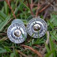 Shotgun Shell Earrings, Bullet Casing Earring, Gun Shell Jewelry