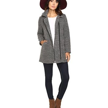 Jack by BB Dakota Kantor Boucle Zip-Up Coat