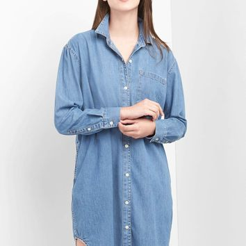 Denim girlfriend shirtdress | Gap