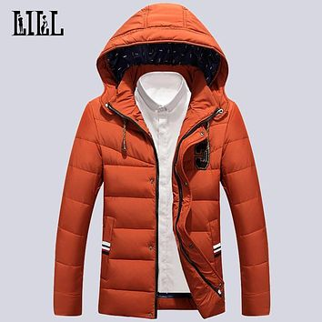 2016 Winter White Duck Down Jacket For Men Fashion Thick Coats Windproof Mens Outerwear Breathable Softshell Male Jackets,UMA289
