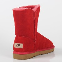 UGG 2018 winter new plus velvet thickening comfortable fashion anti-skiing boots