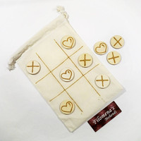 Tic tac toe game, Wooden game, Travel game, For children, Gift idea for kids, Wooden disks, Wood slices, Table game, Wooden toy, Tic tac toe
