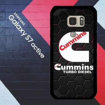 Cummins Turbo Diesel  Z3154 Samsung Galaxy S7 Active Case