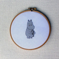 Cross stitch pattern PDF Moomintroll Instant Download