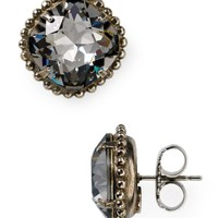 Sorrelli Round Crystal Stud Earrings | Bloomingdales's