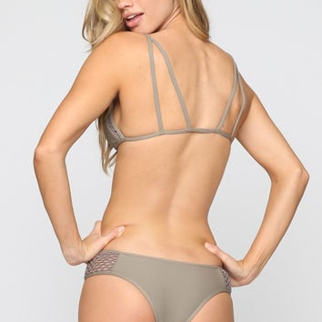 Kahana Bikini Bottom in Smoke