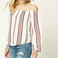 Contemporary Striped Top