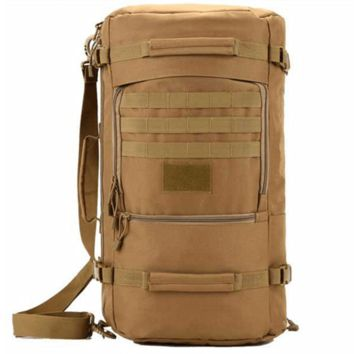 Multi-terrain Military Vintage 50L Backpack