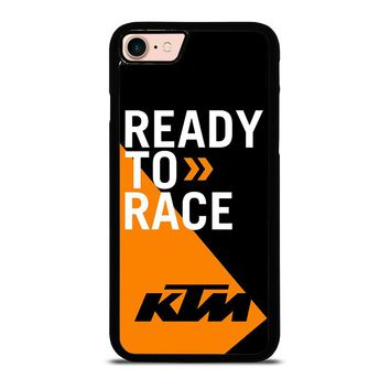 KTM READY TO RACE iPhone 8 Case Cover