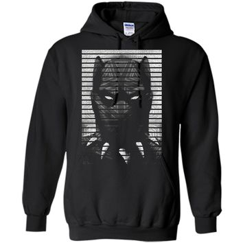 Marvel Black Panther T'Challa Ruler of Wakanda  Pullover Hoodie 8 oz