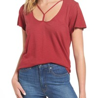 LNA Union Strappy Tee | Nordstrom