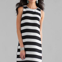 HASTINGS STRIPED DRESS