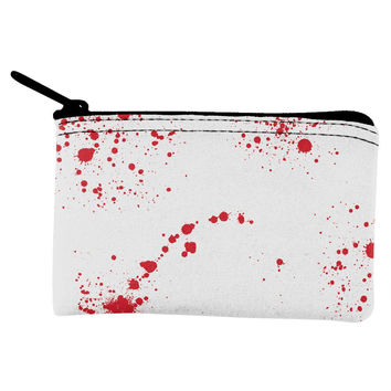 Halloween Blood Splatter Coin Purse