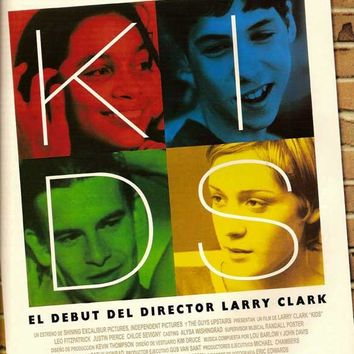 Kids (Spanish) 27x40 Movie Poster (1995)