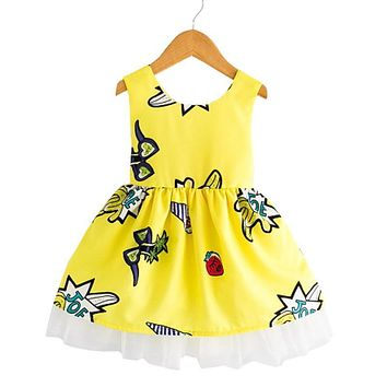 Yellow Dress Back To School
