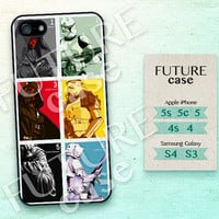 Star Wars iPhone 5 case Storm Troopers iPhone 5s case Yoda iPhone case Darth Vader iPhone 5c case iPhone 5 case Hard or Soft Case-STW06