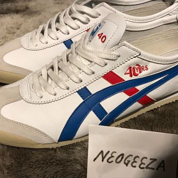 Onitsuka Tiger Mexico 66 40th Anniversary sneaker UK10