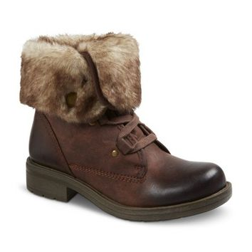 Women's Trina Faux Fur lined Boots - Brown