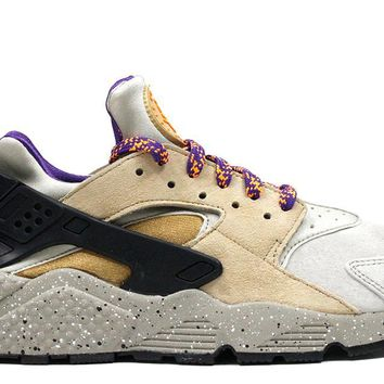 "Nike Air Huarache Run PRM ""Linen/Golden Biege"""