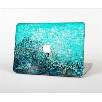 The Grungy Teal Surface V3 Skin Set for the Apple MacBook Air 11""