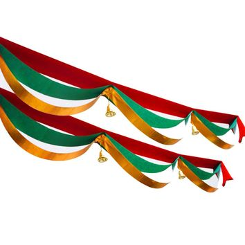 3 Meters Christmas Decoration Home Bunting Banner Garland Props Flag for wedding event Party