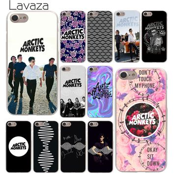 Lavaza ARCTIC MONKEYS cute Hard Phone Cover Case for Apple iPhone 10 X 8 7 6 6s Plus 5 5S SE 5C 4 4S Coque Shell