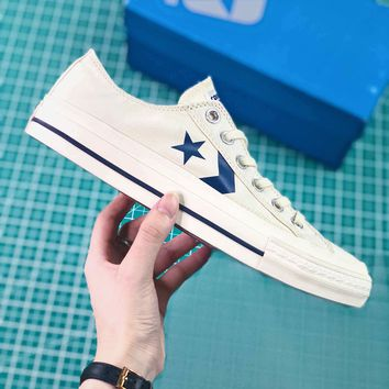 Converse Cx-pro Ox One Star White Canvas Shoes - Sale