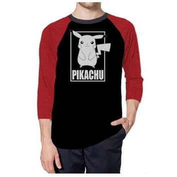 Pokemon - Box Tilted Adult Raglan T-Shirt