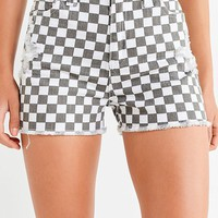Dickies Frayed Mom Short   Urban Outfitters