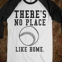 Supermarket: There's No Place Like Home Baseball Shirt from Glamfoxx Shirts