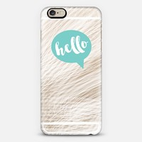 Hey Love Designs Hello Bubble iPhone 6 case by Hey Love Designs | Casetify