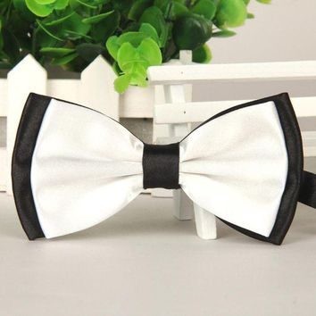 ONETOW 2017 New Bow Tie Mens Women Satin Adjustable Bowtie Tuxedo Wedding Bow Tie Necktie Cravats Accessories Bowknot gravata borboleta