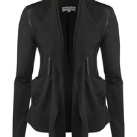 Mary Portas Drape jacket Black - House of Fraser