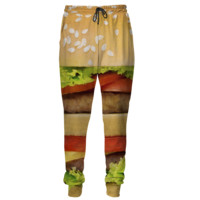 Hamburger sweatpants